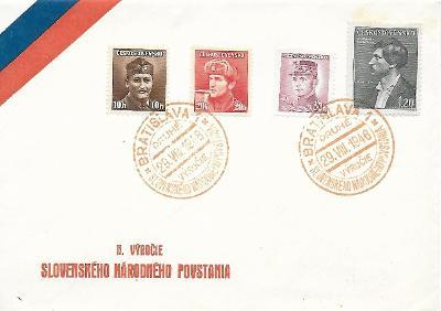 Pamětní obálka Bratislava 1946