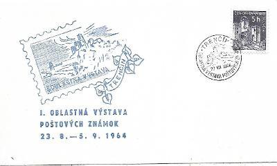 Pamětní obálka Trenčín 1964