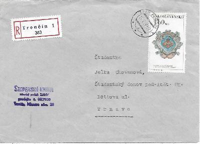 Doporučená firemní obálka Trenčín