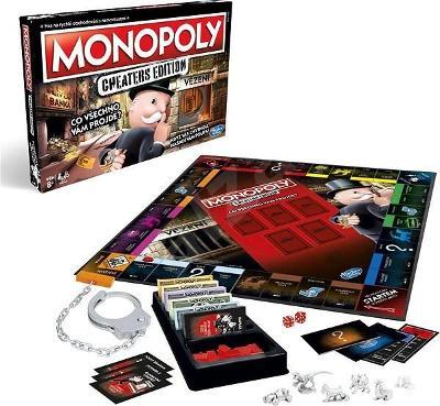 Desková hra Monopoly Cheaters CZ