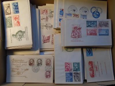 ČSR II - krásná sbírka více než 500 ks FDC od roku 1948