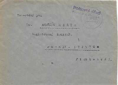 Obálka Poruba u Orlové provizorium 1945