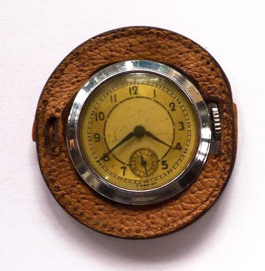 Staré zajímavé atypické kapesní hodinky art-deco - Starožitnosti