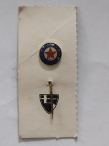 Odznak SPARTA PRAHA ČKD