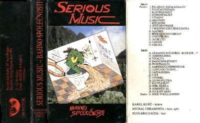 Audio Kazeta SERIOUS MUSIC BahnoSpolečnosti BŘICHÁČEK CHRAMOSTA KUBŮ K