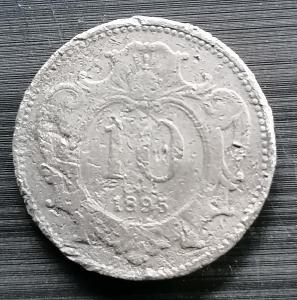 10 haléř 1895