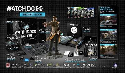 Watch Dogs 1 Dedsec Edition (PS4) bez hry!