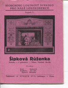 Šípková Růženka (loutky, Storchovo loutkové divadlo)