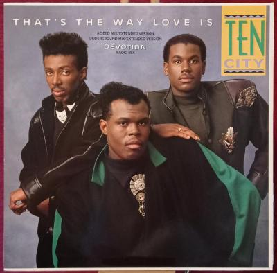 Ten City – That's The Way Love Is (LP 1989 Germany)