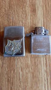 Zapalovač ZIPPO č. 3 s koženým pouzdrem - použitý