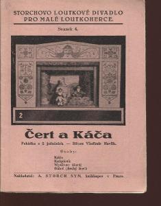 Čert a Káča (loutky, Storchovo loutkové divadlo)