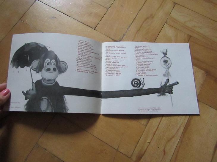 Brožurka Loutky  - Starožitnosti