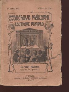 Čaroděj Halibuk (loutky, Storchovo loutkové divadlo)