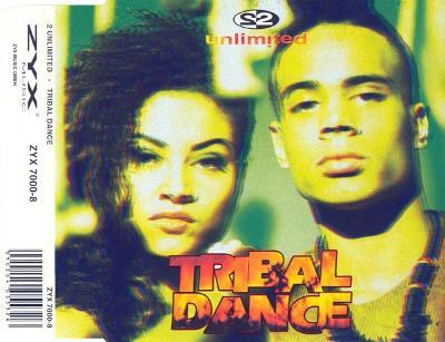 2 UNLIMITED-TRIBAL DANCE CD SINGLE 1993.