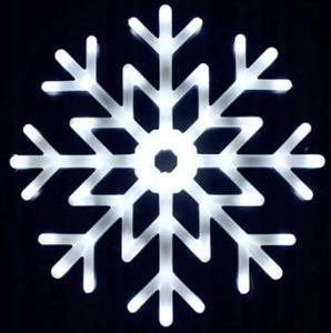 Vánoční LED hvězda na okno 40cm