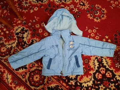 Detska zimni bunda vel. 12m.