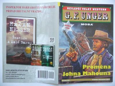 Sešitový román - G. F. Unger - svazek 091 - Proměna Johna Mahouna