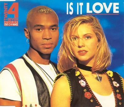 TWENTY 4 SEVEN-IS IT LOVE CD SINGLE 1993.