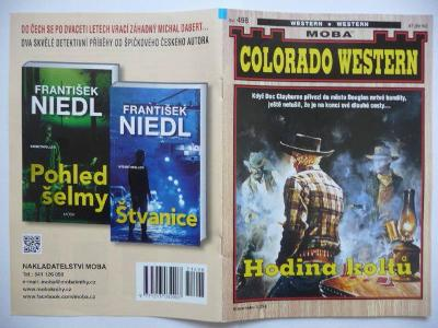 Sešitový román - Colorado Western - svazek 498. - Hodina koltů