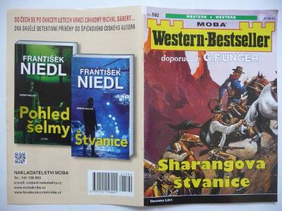 Sešitový román - Western-Bestseller - svazek 592 - Sharangova štvanice