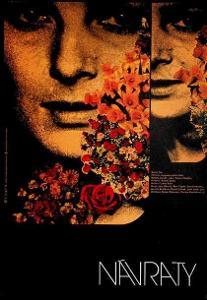 Návraty Zdeněk Ziegler film plakát A3 1972