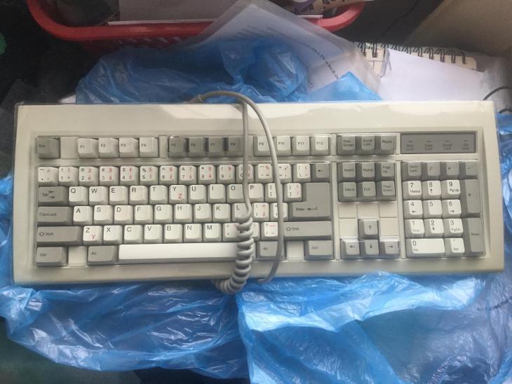 Historická česká DIN klávesnice Chicony 5191 jako nová, testovaná - Historické počítače