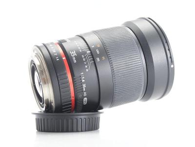 SAMYANG 35 mm f/1,4 AS UMC pro Canon EF