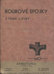Rourové spojky z temp. litiny (katalog, litina)