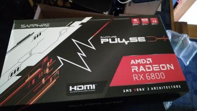 Sapphire Radeon RX 6800 PULSE OC Gaming 16G