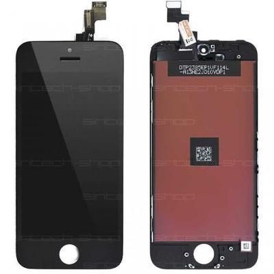 iPhone 5S LCD displej + dotyk černý AKCE - Náhradní díly