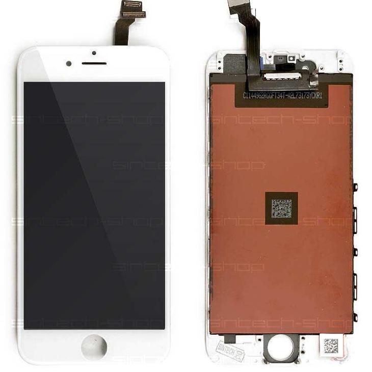 iPhone 6 LCD + dotyk, bílý AKCE - Náhradní díly