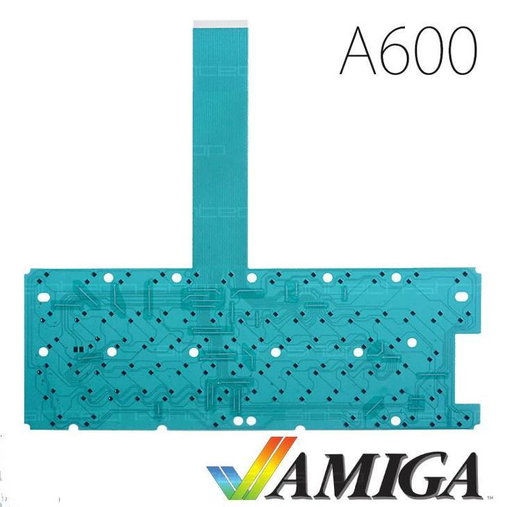 Amiga 600 membrána klávesnice - zelená - Historické počítače