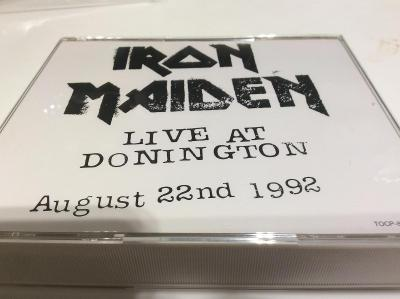 Iron Maiden: Live In Donington, 2CD Japonsko, LTD. Edice bez OBI, FAT