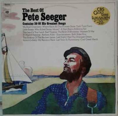 2LP Pete Seeger - The Best Of Pete Seeger, 1972 EX