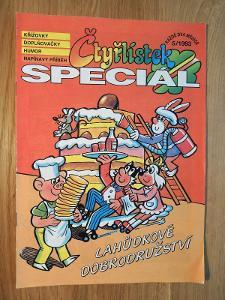 Čtyřlístek Speciál Lahůdkové dobrodružství , 5/1993 , Čtyřlístky