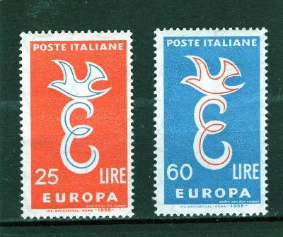 EUROPA CEPT - Itálie Mi 1016-7**