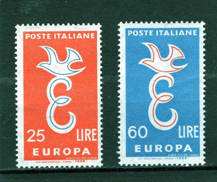 EUROPA CEPT - Itálie Mi 1016-7** - Filatelie