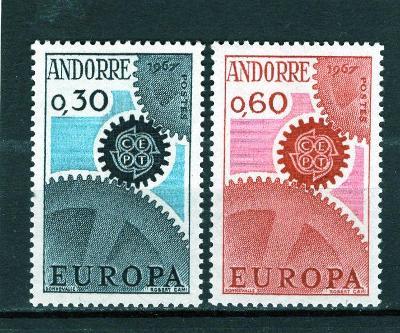 EUROPA CEPT - Andora Mi 199-0**