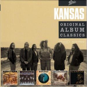 5 CD Kansas - Original Album Classics (1974 - 1977)