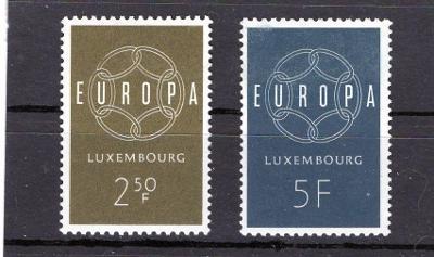 EUROPA CEPT - Lucembursko Mi 609-0**