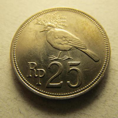 Indonésie -  25 Rupianz roku 1971