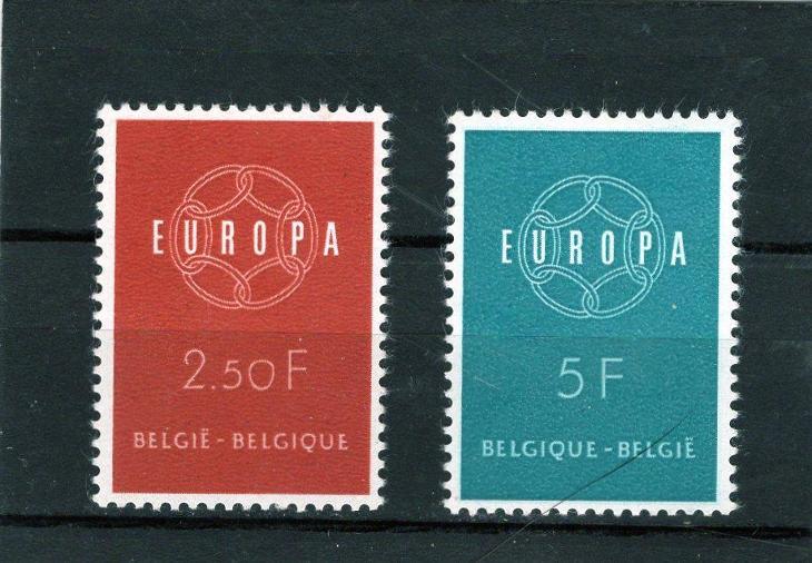 EUROPA CEPT - Belgie Mi 1164-5** - Filatelie