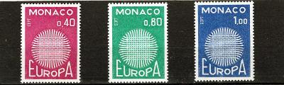 EUROPA CEPT - Monako Mi 977-9**
