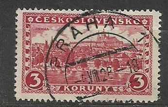 ČSR - č. 226 - Praha - ražená