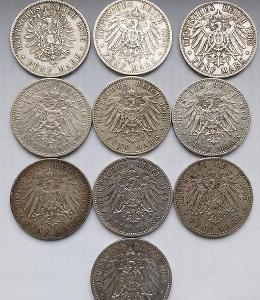 10 5 Mark Preussen Wilhelm II.
