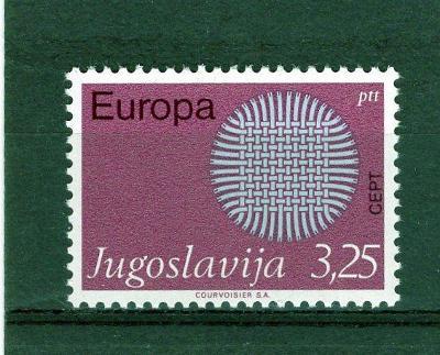 EUROPA CEPT - Jugoslavie **