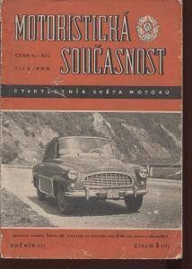 Motoristická současnost, ročník III., číslo 3(11) srp