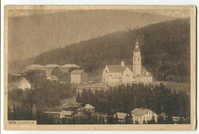 Bayerischer Eisenstein, Šumava, Bavorsko, Železná Ruda
