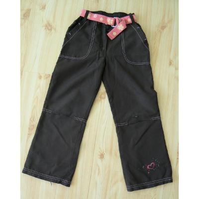 Zateplené kalhoty vel.116