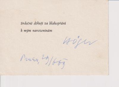 Karel Höger - Podpis !!